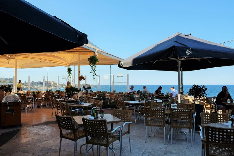 スリーマ海レストラン