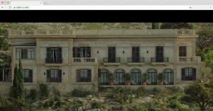 映画のためだけに建設されたホテル